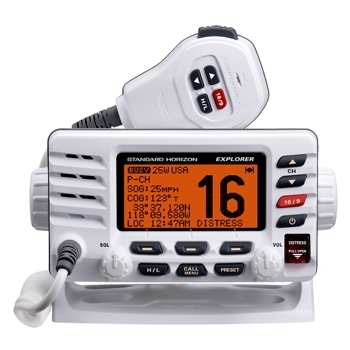 Image of VHF radio